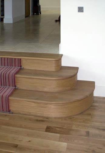 American White Oak Steps