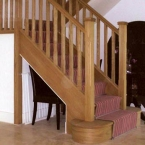 American White Oak Staircase