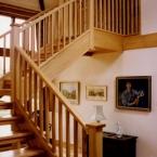 Ash Open Riser Staircase