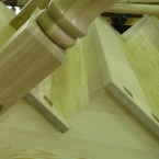Oak Treads & Turned Newels