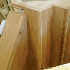 American White Oak Carriage Staircases