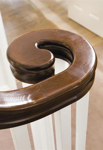 Volute Handrail