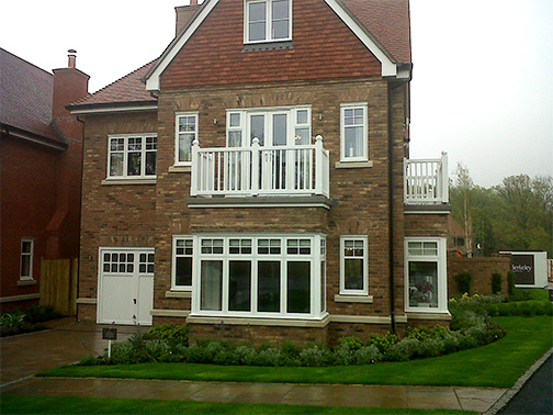 External Post, Bracket and Balcony Balustrading