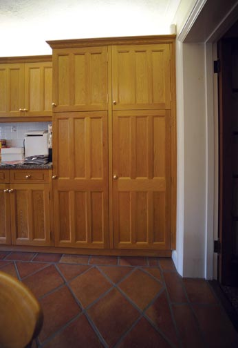Bespoke Oak Cupboard Doors