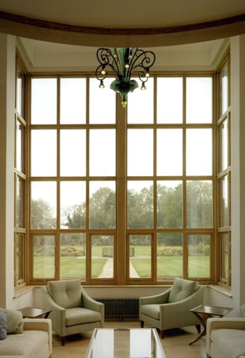 Internal View of Oak Bay Window