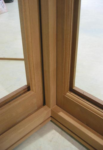Section of Sapele Bay Window