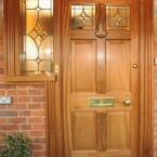 Sapele Entrance Door and Frame