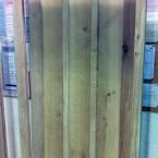 Oak Door & Frame with Curved Head