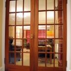 Pair of 15 Light Panel Doors