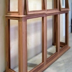 Sapele Bay Window