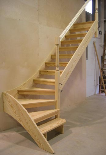 Loft Staircase Design And Manufacture In Caterham Surrey
