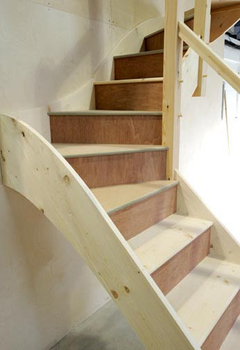Loft Staircase Design and Manufacture in Caterham, Surrey