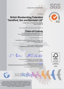Sandiford FSC Certification