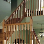 Oak Turned Balustrading