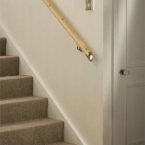 Wood Balustrading with Fusion Components